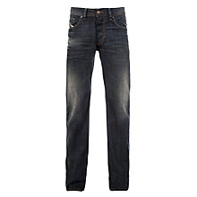 Buy Diesel Larkee Straight Leg Jeans, Dark Wash Online at johnlewis.com