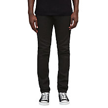 Buy Diesel Tepphar Slim Fit Carrot Jeans, Black Online at johnlewis.com