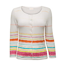 Buy East Paint Stripe Cardigan, Multi Online at johnlewis.com