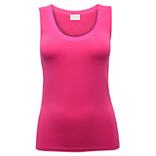 Buy East Azalea Multi Stitch Cotton Vest, Pink Online at johnlewis.com