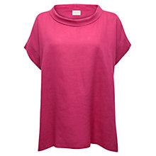 Buy East Linen Bardot Neck Tunic Top Online at johnlewis.com