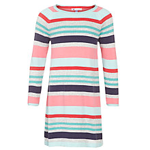 Buy John Lewis Girl Multi Stripe Dress, Multi Online at johnlewis.com