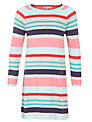 John Lewis Girl Multi Stripe Dress, Multi