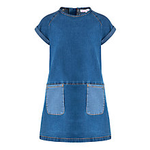 Buy Loved & Found Girls' Denim Tunic Dress, Denim Online at johnlewis.com