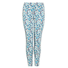 Buy Kin by John Lewis Girls' Ant Farm Leggings, Blue/Grey Online at johnlewis.com