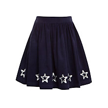 Buy John Lewis Girl Sequin Star Border Skirt Online at johnlewis.com