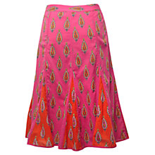 Buy East Kendra Print Skirt, Azalea Online at johnlewis.com