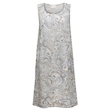 Buy East Linen Watercolour Print Pocket Dress, Multi Online at johnlewis.com