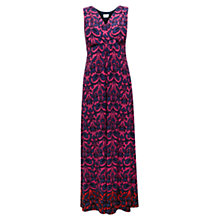 Buy East Smudgy Ikat Print Dress, Azalea Online at johnlewis.com