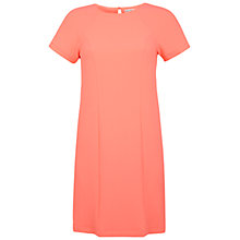 Buy Miss Selfridge Plain T-Shirt Dress, Coral Online at johnlewis.com