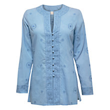 Buy East Embroidered Kurta Top Online at johnlewis.com