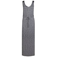 Buy Miss Selfridge Drawstring Maxi Dress, Mid Grey Online at johnlewis.com