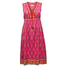 Buy East Kendra Print Shift Dress, Azalea Online at johnlewis.com