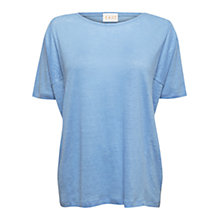 Buy East Square Cut Top, Sky Online at johnlewis.com