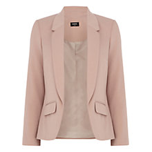 Buy Oasis Textured Jacket, Light Neutral Online at johnlewis.com