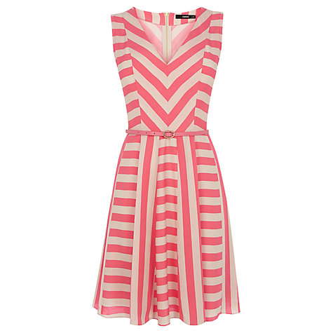 Multi Stripe Viscose Dress £45