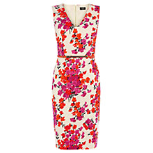 Buy Oasis Sweet Pea Pencil Dress, Multi Natural Online at johnlewis.com