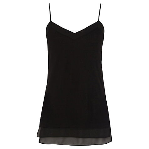 Buy Oasis Chiffon Hem Cami Top Online at johnlewis.com