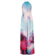 Buy Ted Baker Summer Dusk Maxi Dress, Grey Online at johnlewis.com