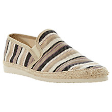 Buy Dune Frisky Espadrilles, Brown Online at johnlewis.com