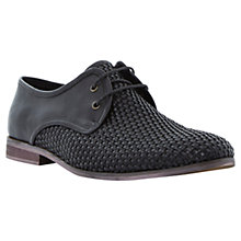 Buy Dune Bodeans Woven Derby Shoes Online at johnlewis.com