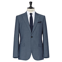 Buy Reiss Sackville 2 Piece Mohair & Silk Blend Suit, Light Blue Online at johnlewis.com