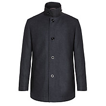 Buy BOSS Coxtan Knitted Wool Jacket, Navy Online at johnlewis.com
