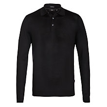 Buy BOSS Banet-D Merino Wool Jumper, Black Online at johnlewis.com