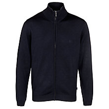 Buy BOSS Baldemar Zip Knit Jumper Online at johnlewis.com