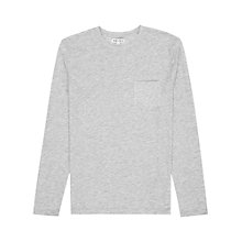 Buy Reiss Max Patch Pocket Long Sleeve T-Shirt Online at johnlewis.com