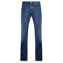 Buy BOSS Delaware Slim Fit Jeans, Blue Online at johnlewis.com