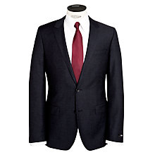Buy BOSS Huge Genius Fleck Suit, Navy Online at johnlewis.com