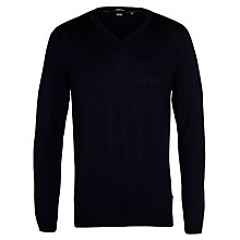 Buy BOSS Batisse B V-Neck Jumper Online at johnlewis.com