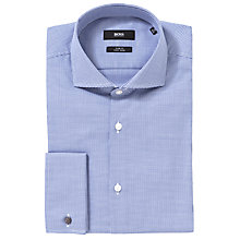 Buy BOSS Jaiden Double Cuff Puppytooth Shirt Online at johnlewis.com