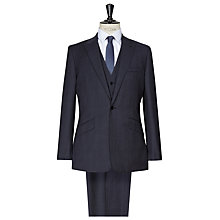 Buy Reiss Achilles 3 Piece Check Suit, Indigo Online at johnlewis.com