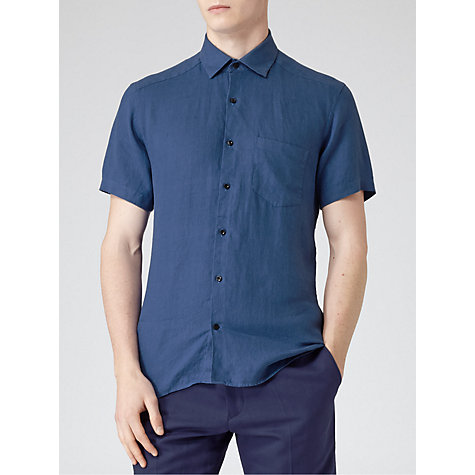 Buy Reiss Drone Short Sleeve Shirt Online at johnlewis.com