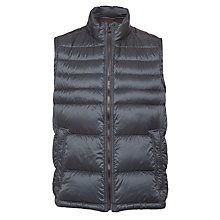 Buy BOSS Dontin Quilted Gilet, Navy Online at johnlewis.com