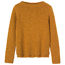 Buy Toast Uta Merino Wool Jumper, Mustard Online at johnlewis.com