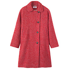 Buy Toast Adelina Collar Coat, Red Online at johnlewis.com