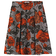 Buy Toast Nora Floral A-Line Skirt, Multi Online at johnlewis.com