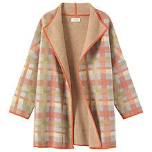 Buy Toast Thea Merino Wool Check Coat, Multi Online at johnlewis.com