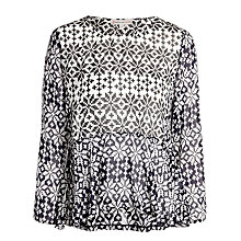 Buy Paul & Joe Sister Danoiz Top, Black/White Online at johnlewis.com