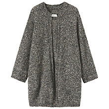 Buy Toast Zelma Wool Coat, Black / Charcoal Online at johnlewis.com