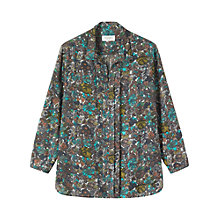 Buy Toast Annik Blouse, Dove Grey Online at johnlewis.com