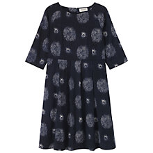 Buy Toast Franca Smock Dress, Ink Blue / Antique White Online at johnlewis.com