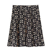 Buy Toast Sovia Skirt, Black Online at johnlewis.com