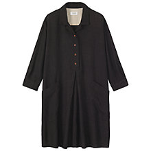 Buy Toast Shaker Check Shirt Dress, Charcoal Online at johnlewis.com