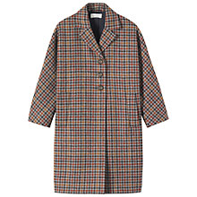 Buy Toast Sanna Wool Check Coat, Multi Online at johnlewis.com