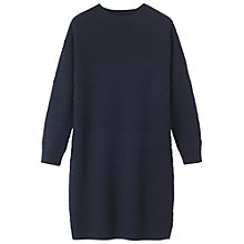 Buy Toast Anita Dress. Navy Online at johnlewis.com