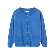 Buy Toast Hanna Cardigan, Blue Online at johnlewis.com